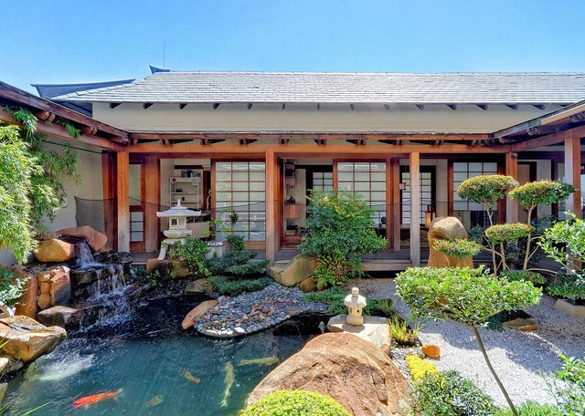 Japanese home in northcliff johannesburg asian for Japan home design style