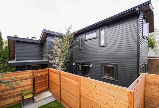 Japanese Modern ADU- Tiny House for a Designer - Modern - Exterior - portland - by SBaird Design