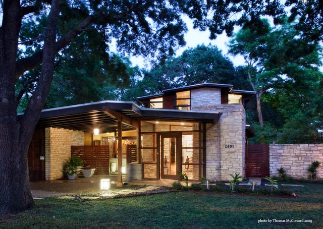 Jarratt mid century modern contemporary exterior for Mid century modern home exterior