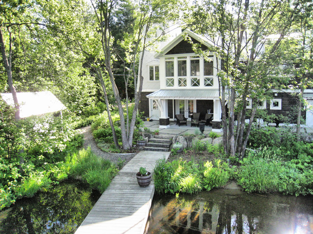 Jarvis Boathouse And Cottage In Muskoka Traditional