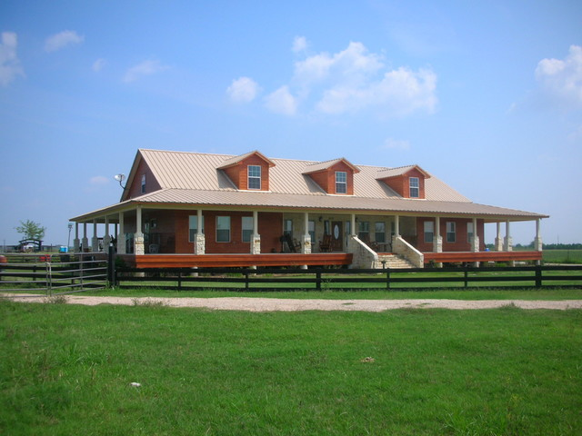Jay Baker Custom Home, Katy, Texas - Farmhouse - Exterior - Other