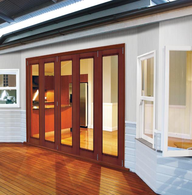 JELD WEN Aurora Custom Fiberglass Patio Doors transitional-exterior & JELD WEN Aurora Custom Fiberglass Patio Doors