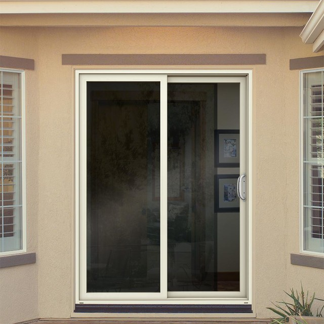 Jeld Wen Premium Vinyl Patio Doors Transitional