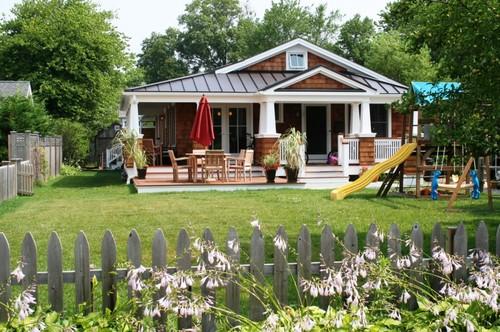 bay head beach house renovation traditional exterior