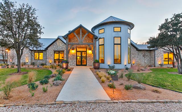 Jeter contemporary exterior dallas by veranda fine for Contemporary home builders dallas