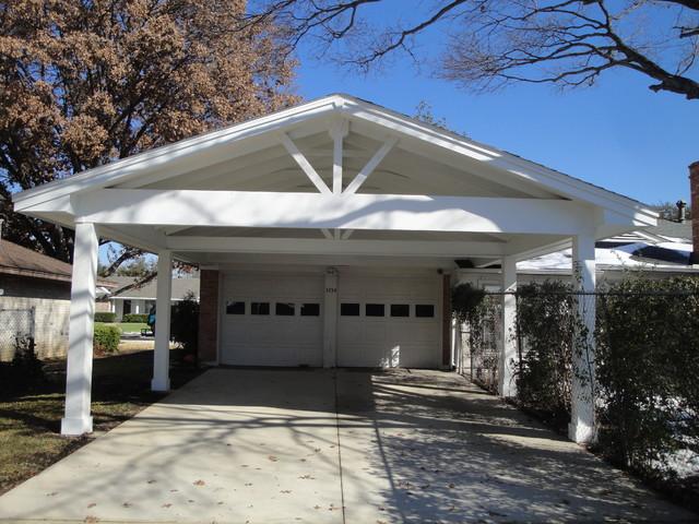 Johnson residence carport addition for Carport additions