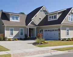 johnston custom home traditional-exterior
