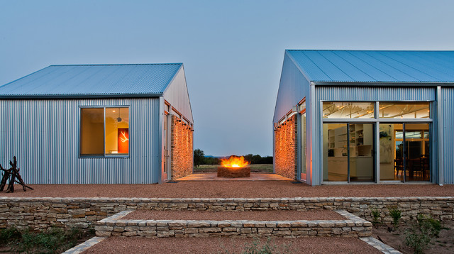 Contemporary Steel Buildings : Joshua nimmo contemporary exterior dallas by