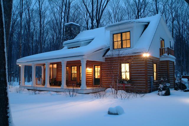 Josie's Cabin rustic-exterior