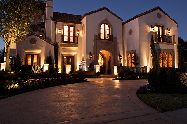 Kaleidoscope of Homes (Simmons Estate Homes) mediterranean-exterior