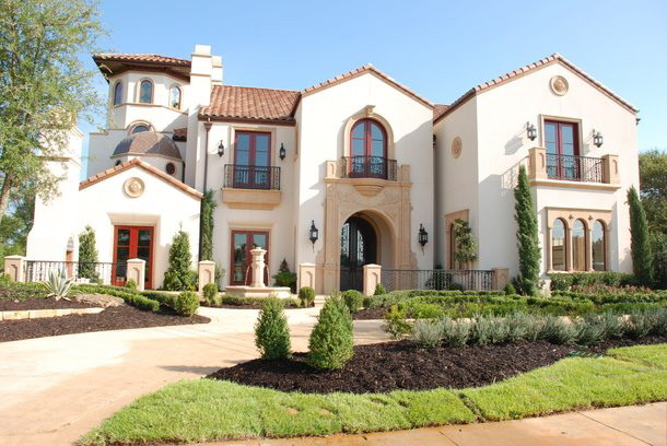 Kaleidoscope of homes simmons estate homes for Spanish style homes for sale in dallas tx