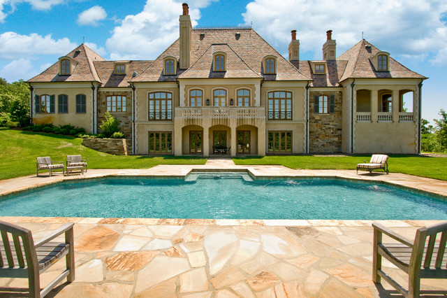 Excellent Kanis French Country Estate Traditional Exterior Little Rock Largest Home Design Picture Inspirations Pitcheantrous