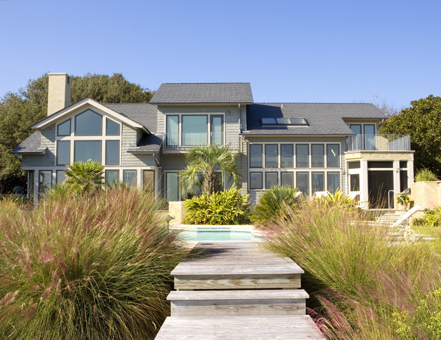 Kelly Residence beach-style-exterior