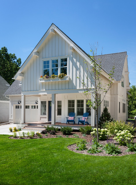 Kenwood cottage traditional exterior minneapolis by peterssen keller architecture - Traditional houses attic ...