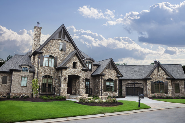 Building With Fieldstone : Keowee fieldstone traditional exterior other metro