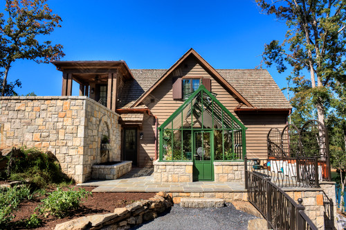 Traditional Exterior by Greer Home Builders Gabriel Builders Inc.