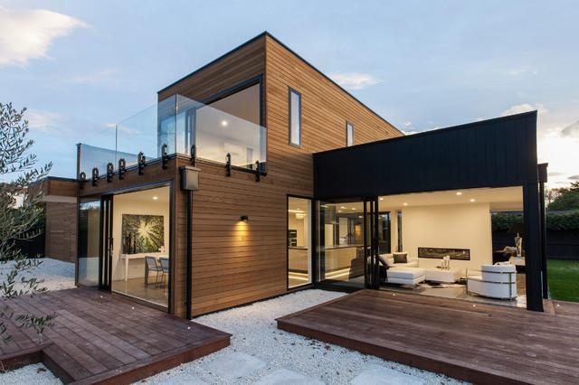 Kereru house contemporary exterior