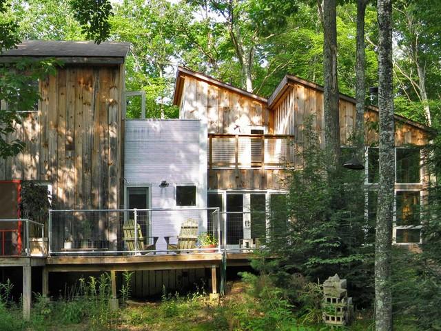 Kerhonkson Residence eclectic-exterior