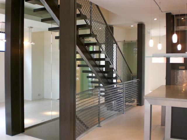furnari residence contemporary-staircase