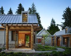 Key Peninsula Residence rustic-exterior