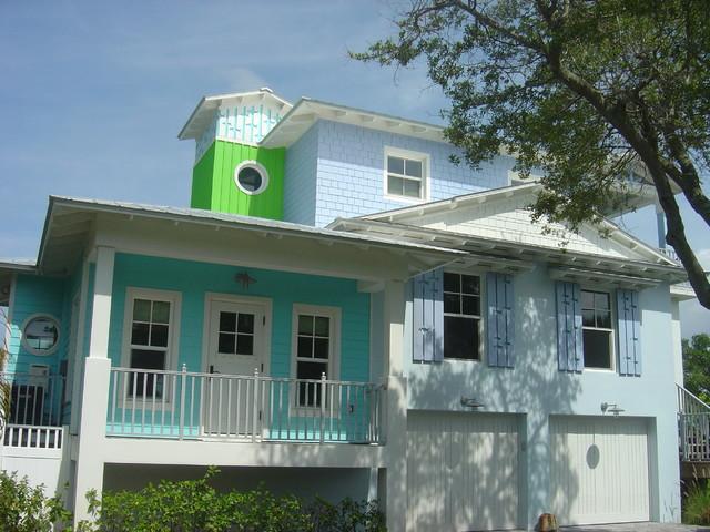 Key West Tropical Exterior By M A Corson Amp Assoc Inc