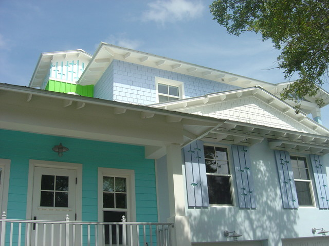 Key West Tropical Exterior Miami By M A Corson