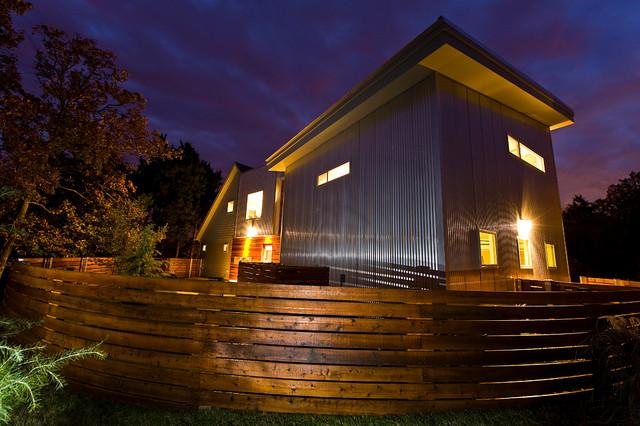 Blackjack House modern-exterior