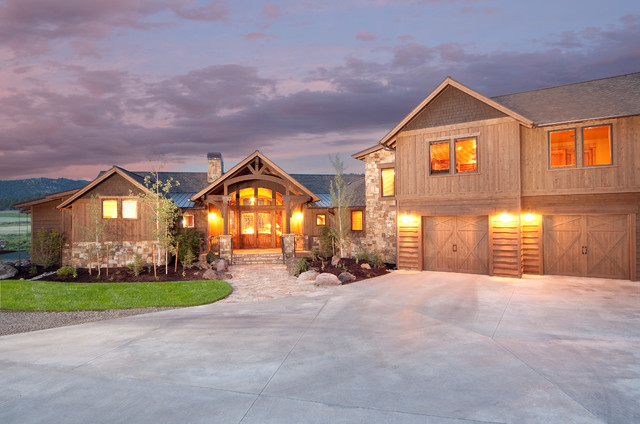 Keystone ranch home brasada ranch style homes for Western style homes pictures