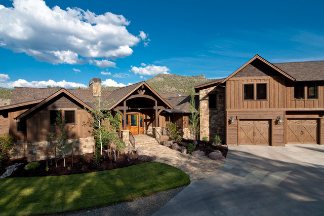 Brasada ranch style homes traditional exterior other for Western home builders