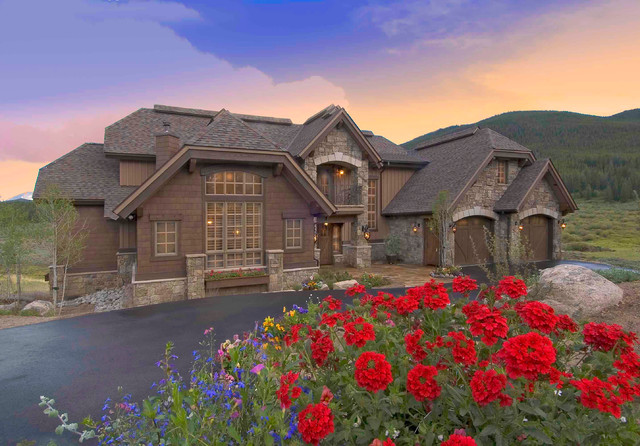 Keystone Ranch Home traditional-exterior