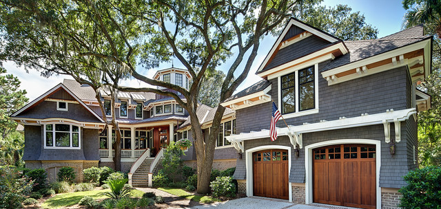 Kiawah Island Custom Home Traditional Exterior Charleston By Camens Architectural Group Llc