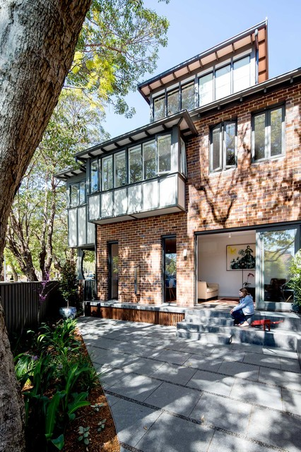 Photo of a contemporary exterior in Sydney.