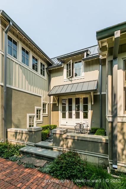 Kitchen Courtyard craftsman-exterior