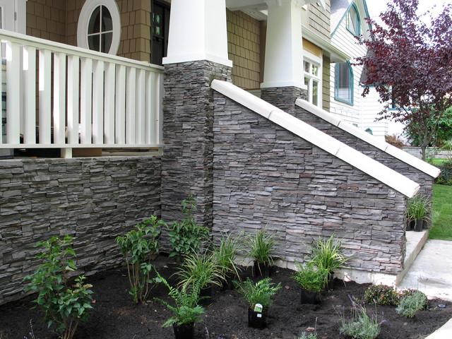 Kitsilano Eldorado Ledge Stone House - Exterior - vancouver - by Dwell ...
