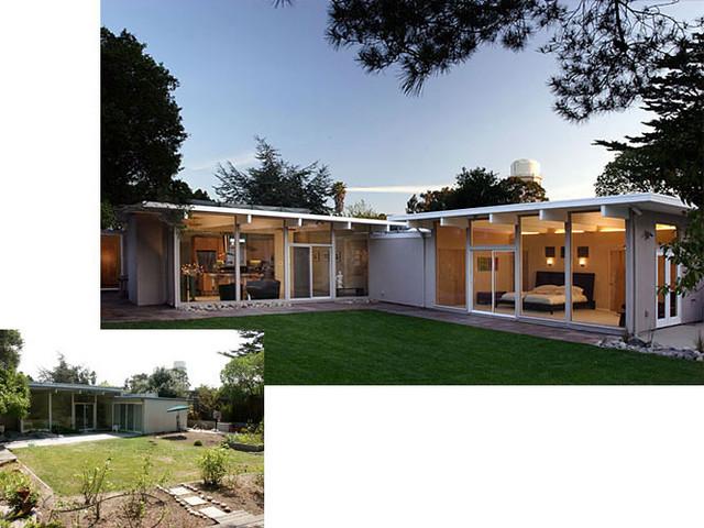 Klopf Architecture Eichler Addition / Remodel midcentury-exterior