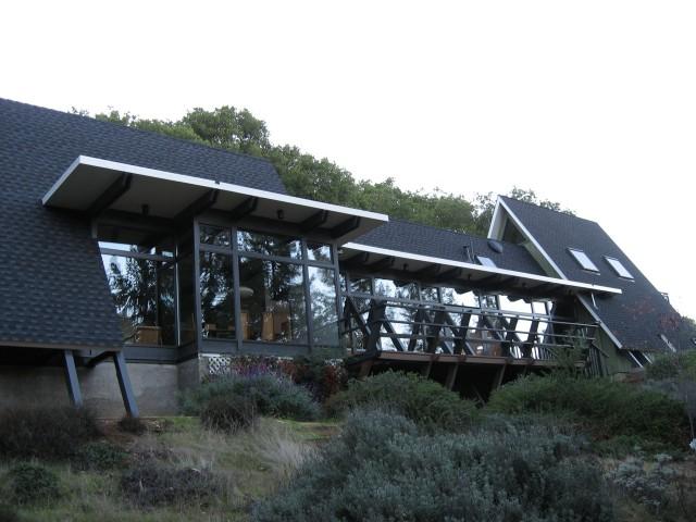 klopf architecture los altos hills mid century modern a frame midcentury exterior