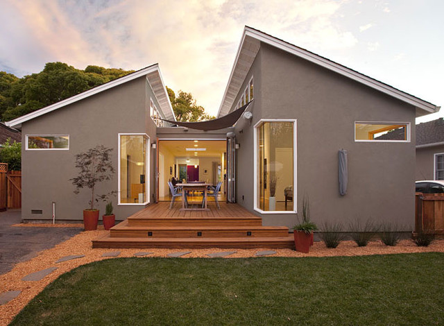Klopf Architecture Modern Ranch House Addition / Remodel modern-exterior