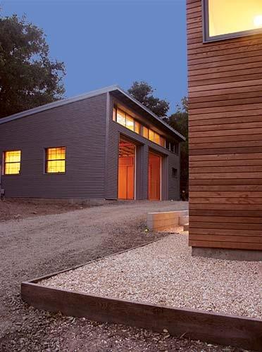 Klopf Architecture Private Martial Arts Dojo Modern