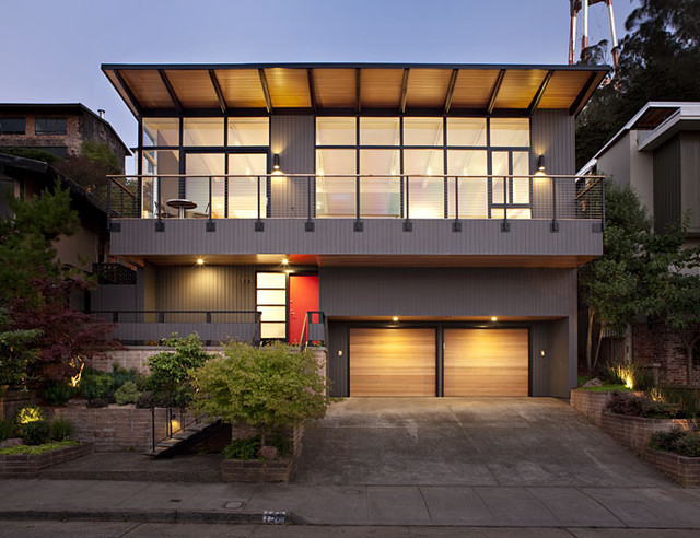 san francisco mid century modern remodel midcentury exterior