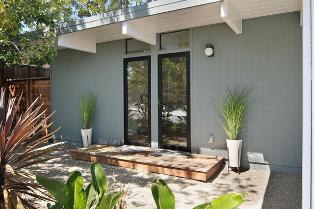 Klopf architecture san mateo highlands eichler remodel for Eichler paint colors