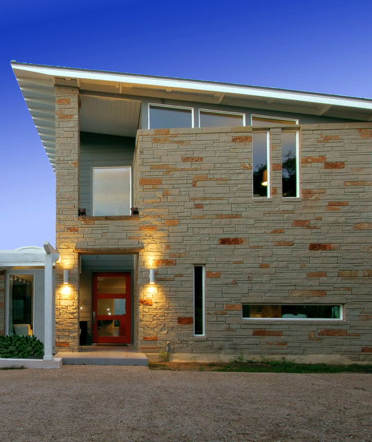 knollwood remodel exterior contemporary exterior austin by