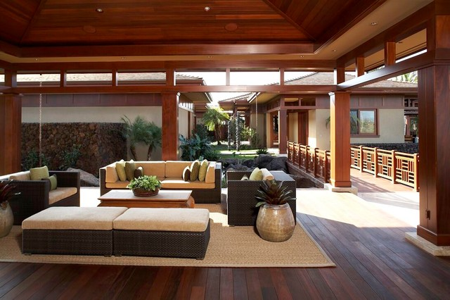 Knudson interiors asian exterior hawaii by knudson interiors - Japanese interior ...