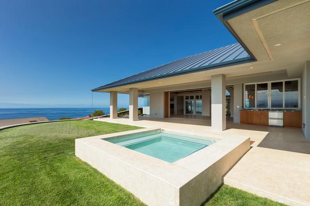 Kohala coast residence modern exterior hawaii by for David sanders home designs