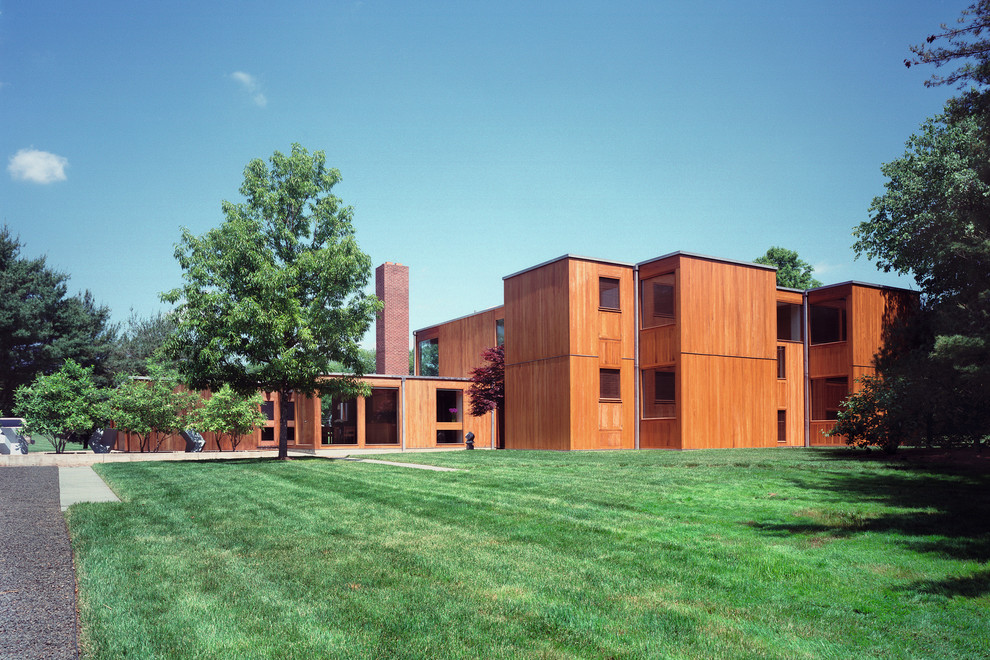 Design ideas for a modern exterior in Other.