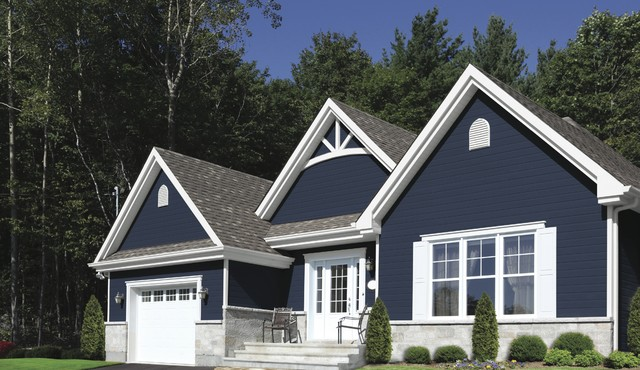 kwp naturetech siding - traditional - exterior - montreal