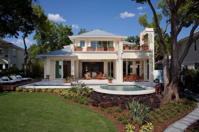 Phil kean design group · architects building designers la belle tropical exterior