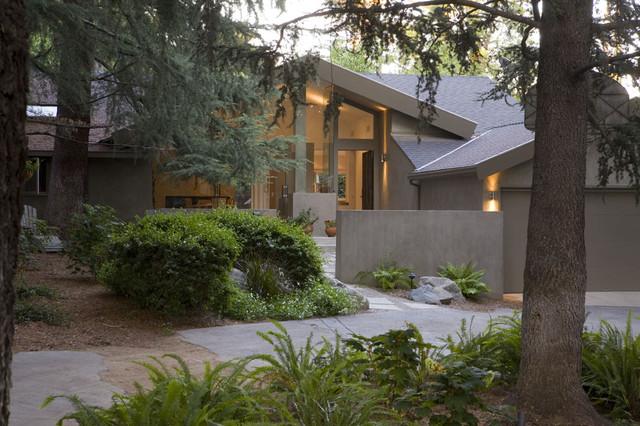La Canada Residence contemporary-exterior