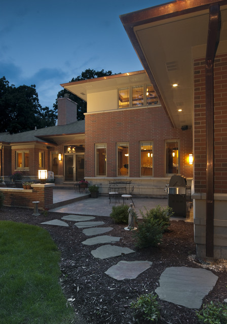 La Grange Park Residence traditional-exterior