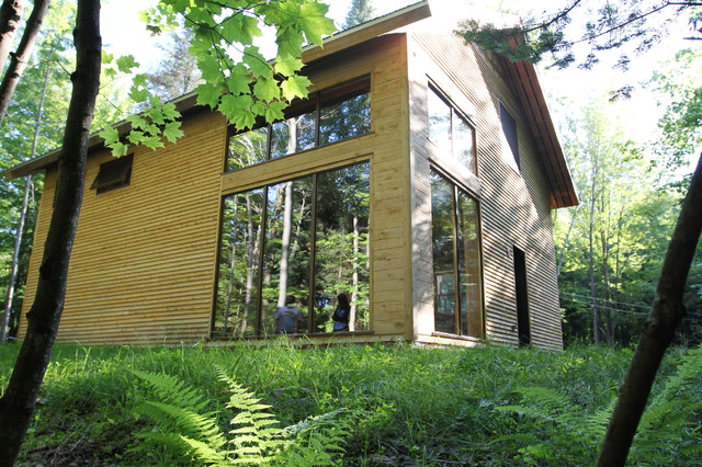 La petite maison verte contemporary-exterior