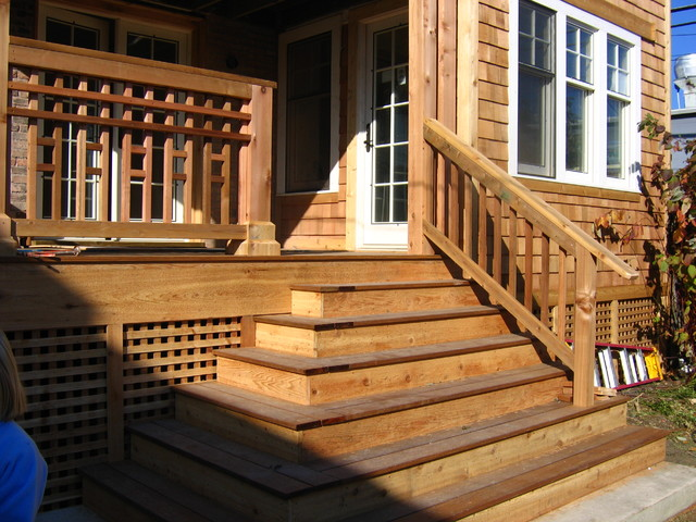 Laedtke Residence porch and exterior traditional-exterior